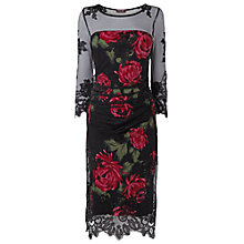 Buy Phase Eight Anastasia Dress, Black Online at johnlewis.com