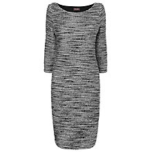 Buy Phase Eight Bouclé Dress, Grey/Ivory Online at johnlewis.com