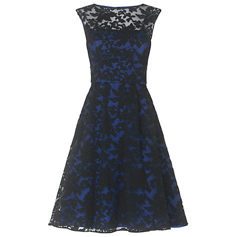 Buy Phase Eight Anabelle Embroidered Dress, Navy Online at johnlewis.com