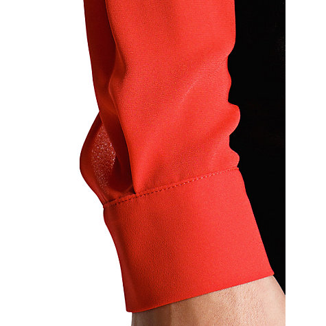 Buy Mango Wrap Top Dress, Medium Red Online at johnlewis.com