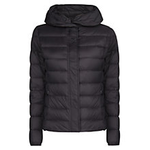 Buy Mango Feather Down Coat, Black Online at johnlewis.com