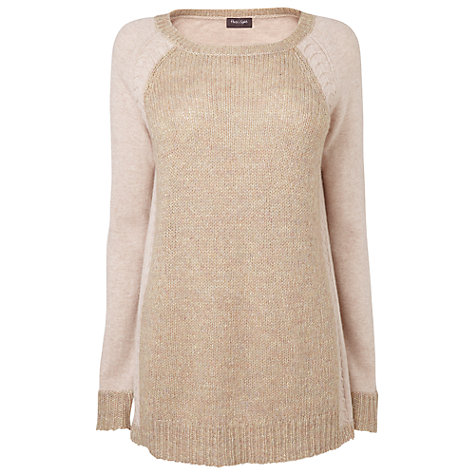 Buy Phase Eight Hetty Panel Jumper, Pale Pink Online at johnlewis.com