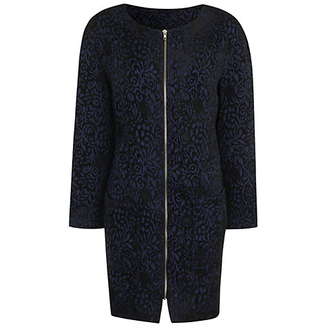 Buy True Decadence Cocoon Coat, Blue Online at johnlewis.com
