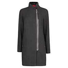 Buy Mango Zipped Long Coat Online at johnlewis.com