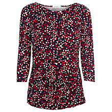 Buy Kaliko Ditsy Print Top, Red Online at johnlewis.com