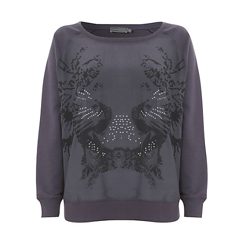 Buy Mint Velvet Kezia Print Sweatshirt Online at johnlewis.com