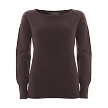 Buy Mint Velvet Fluffy Zip Detail Jumper Online at johnlewis.com