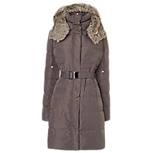 Buy Phase Eight Freya Quilted Jacket, Mink Online at johnlewis.com