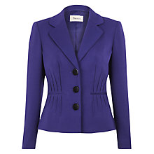 Buy Precis Petite Pintuck Jacket, Purple Online at johnlewis.com