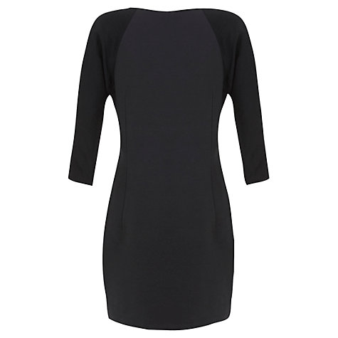 Buy Mint Velvet Amelia Silk Front Dress, Multi Online at johnlewis.com