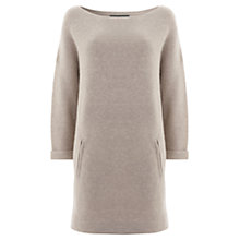 Buy Mint Velvet Oversized Jumper Dress Online at johnlewis.com