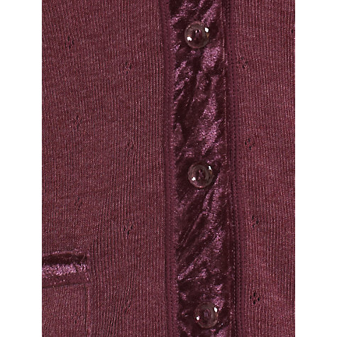 Buy Jigsaw Victoria Thermal Cardigan Online at johnlewis.com