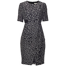 Buy Whistles Blurred Spot Dress, Black/White Online at johnlewis.com