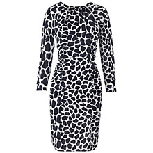 Buy Whistles Izzey Giraffe Bodycon Dress, Multi Online at johnlewis.com