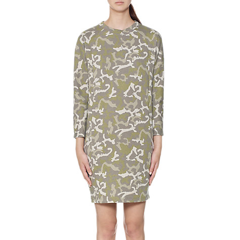 Buy Whistles Camo Sweatshirt Dress, Multi Online at johnlewis.com