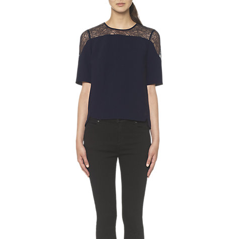 Buy Whistles Alexandra Top Online at johnlewis.com