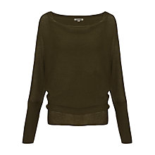 Buy Jigsaw Rice Stretch Batwing Sweater Online at johnlewis.com