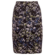 Buy Jigsaw Brushed Rose Skirt, Multi Online at johnlewis.com