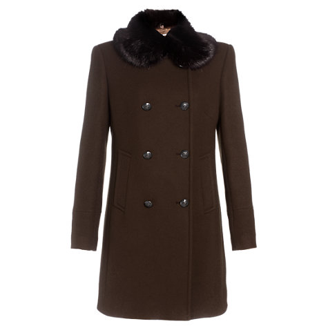 Buy Jigsaw Double Breasted Coat Online at johnlewis.com