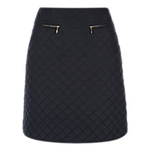 Buy Hobbs Pearl Skirt, Navy Online at johnlewis.com