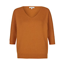 Buy Hobbs Kiera Jumper, Marmalade Online at johnlewis.com
