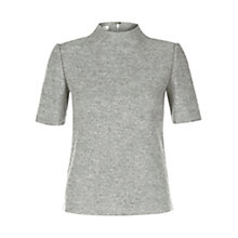 Buy Hobbs Daisey Top, Grey Online at johnlewis.com