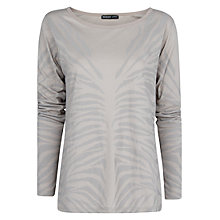 Buy Mango Faded Animal Print Top Online at johnlewis.com