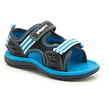 Buy Clarks Piranha Mesh Sandals, Blue/Black Online at johnlewis.com