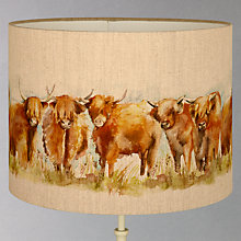 Buy Voyage Highland Cattle Lampshade Online at johnlewis.com