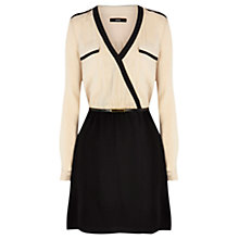 Buy Oasis Wrap Dress, Multi Online at johnlewis.com