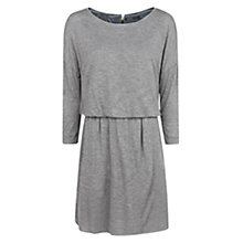 Buy Mango Elasticated Waist Dress, Dark Grey Online at johnlewis.com