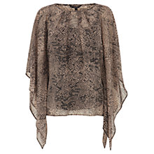 Buy Coast Hanover Top, Brown Online at johnlewis.com