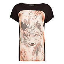 Buy Mango Chiffon T-Shirt Online at johnlewis.com
