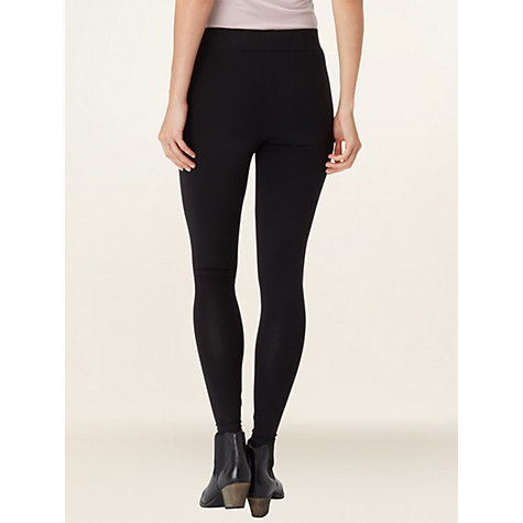 Buy Phase Eight Lizzie Leggings, Black Online at johnlewis.com