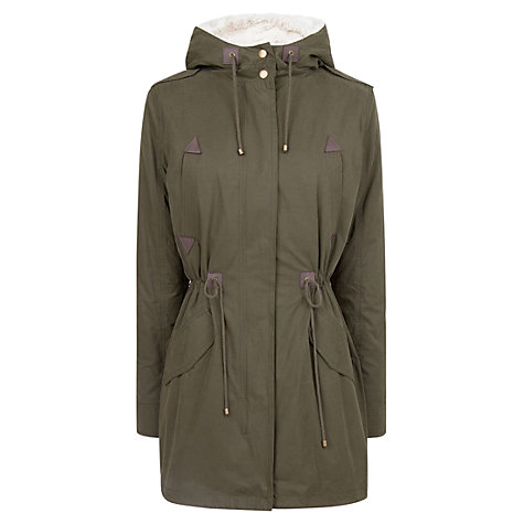 Buy Mango Parka Coat Online at johnlewis.com