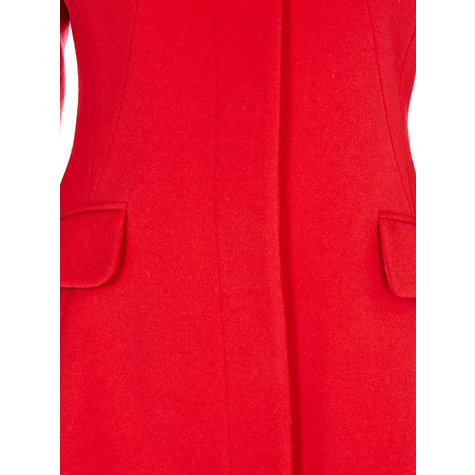 Buy Coast Alvina Coat, Red Online at johnlewis.com