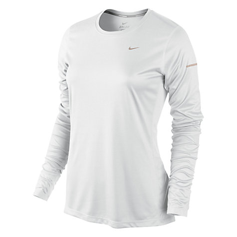 Buy Nike Long Sleeve Crew Top Online at johnlewis.com