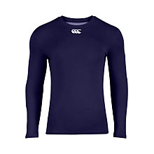Buy Canterbury of New Zealand Base Layer Long Sleeve Top, Navy Online at johnlewis.com