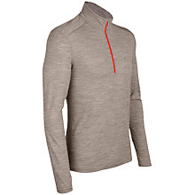 Buy Icebreaker Half Zip Top, Brown Online at johnlewis.com