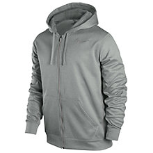 Buy Nike KO Full Zip Training Hoodie, Grey Online at johnlewis.com