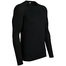 Buy Icebreaker Everyday Long Sleeve Crew Neck Top, Black Online at johnlewis.com
