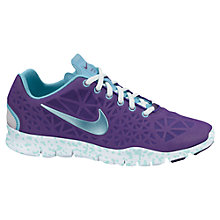 Buy Nike Women's Free TR III Training Shoes , Purple/Blue Online at johnlewis.com