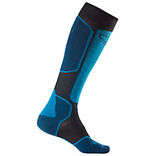 Buy Icebreaker Ski+ Lite Over The Calf Socks, Black/Blue Online at johnlewis.com