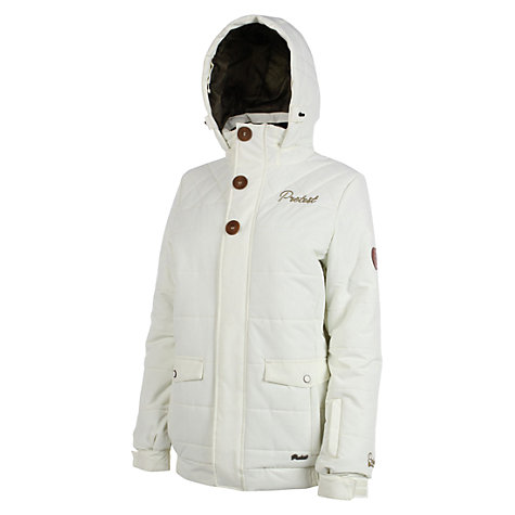 Buy Protest Rosco Board Jacket, White Online at johnlewis.com