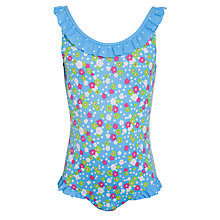 Buy John Lewis Girl Ditsy Floral Swimsuit Online at johnlewis.com