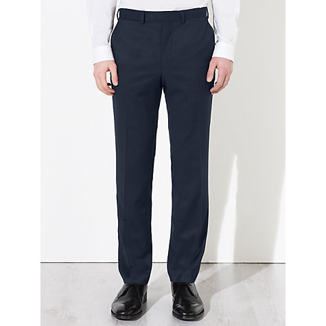 Buy Kin by John Lewis Otto Fine Pindot Suit Trousers, Navy Online at johnlewis.com