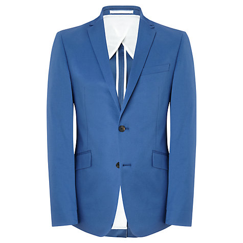 Buy Kin by John Lewis Prior Cotton Blazer, Blue Online at johnlewis.com