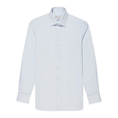 Buy Reiss Navigator Non-Stretch Poplin Long Sleeve Shirt Online at johnlewis.com