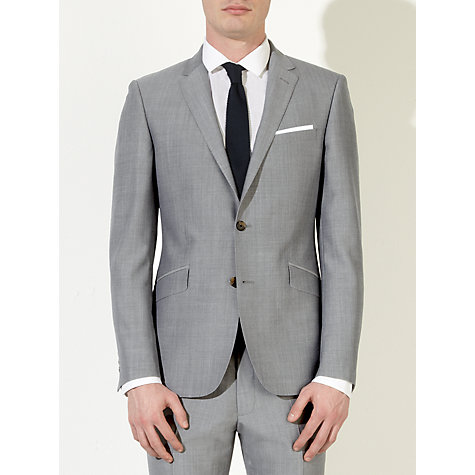 Buy Kin by John Lewis Stamford Tonic Suit Jacket, Light Grey Online at johnlewis.com