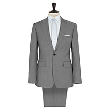Buy Reiss Patterson Peak Lapel Suit, Mid Grey Online at johnlewis.com